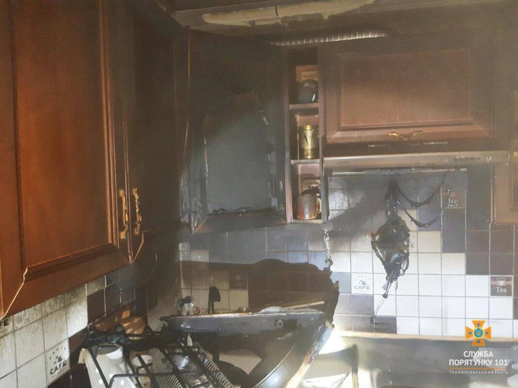 Пожежа у Чорткові в будинку: евакуювали 40 людей