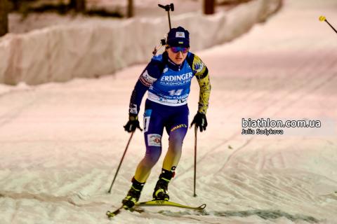 Біатлон: Україна, з Підгрушною на фініші, фінішувала сьомою в естафеті