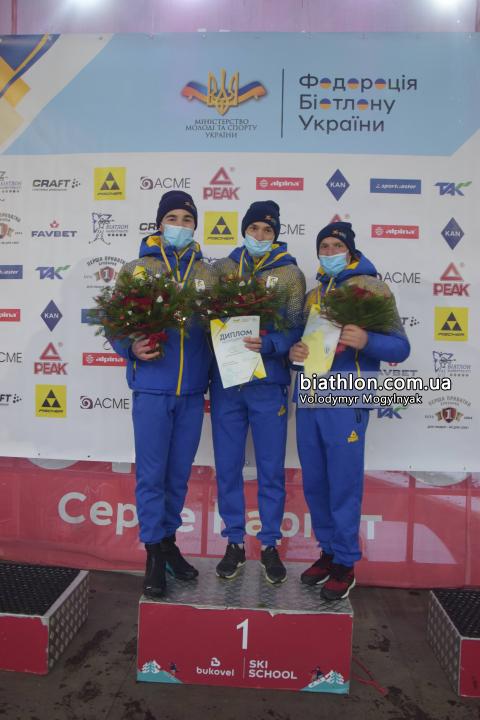 Тернопільські біатлоністи на чемпіонаті в Буковелі відбираються до збірної України