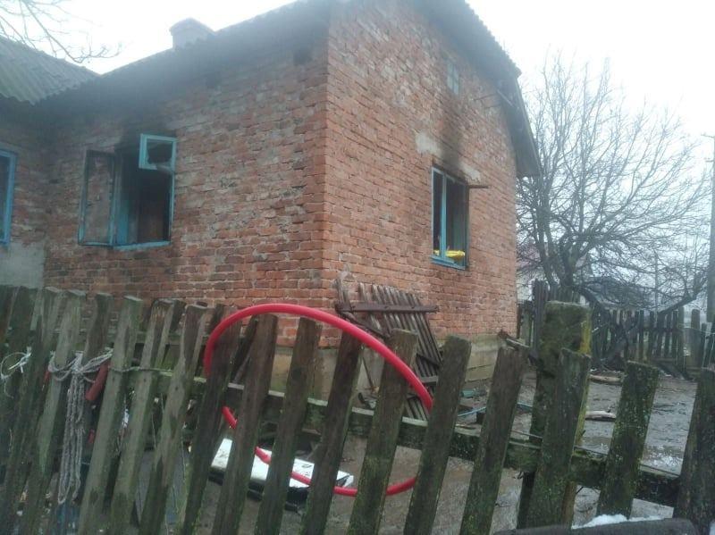 Бережанський карітас збирає кошти для родини, у якої згоріло житло