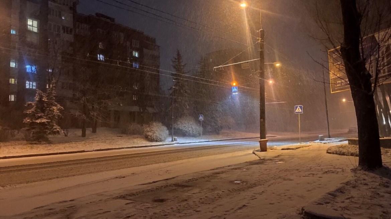 Чи протримається сніг у Тернополі до Нового року?