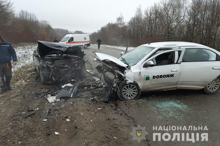 ДТП на Тернопільщині: водій порушив правила і виїхав на зустрічну смугу (ФОТО)