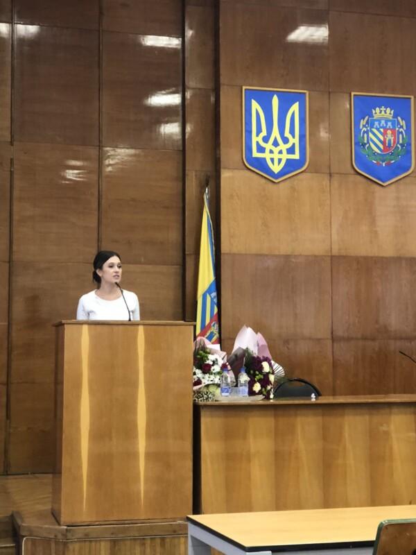 Чортківську райраду очолила представниця партії «Довіра»