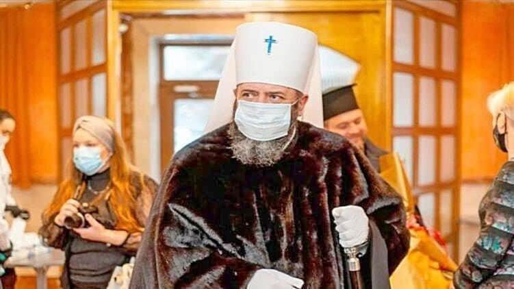 Глава ПЦУ розкритикував норкову шубу митрополита з Тернопільщини (ФОТО)