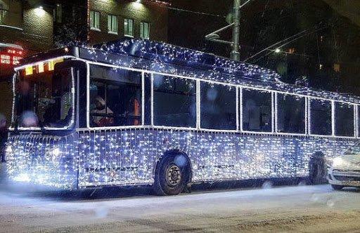 У Новорічну ніч Тернополем курсуватиме транспорт