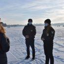 """У Тернополі на ставі був аншлаг, хоча на вулиці """"плюсова"""" температура (ФОТО)"""