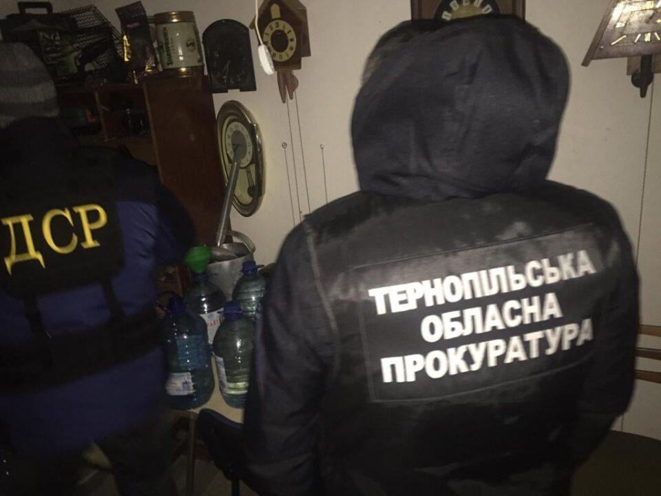 Жителя Бучача судитимуть за продаж підробленого алкоголю (ФОТО)