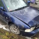 У Тернополі водій на Audi побив декілька авто, в'їхав у паркан і втік з місця ДТП (ФОТО)