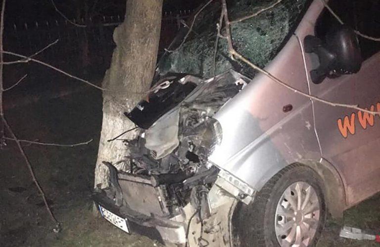 На Тернопільщині п'яний водій на бусі збив на смерть жінку (ФОТО)
