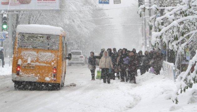 Циклон Dimitrios засипле Україну снігом: буде і мороз, і ожеледиця