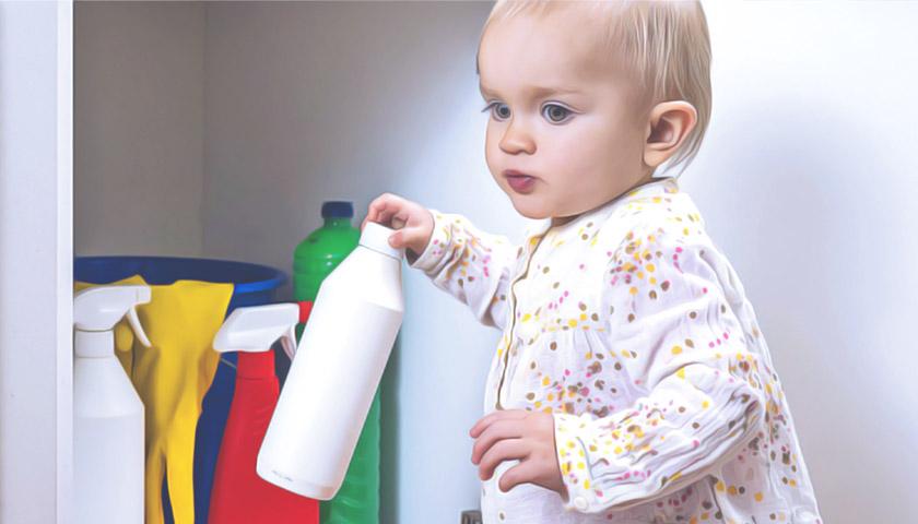 На Тернопільщині дитина напилася прального порошку