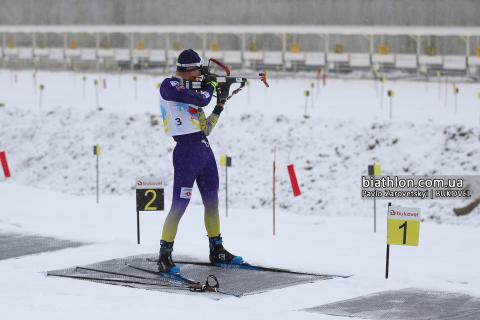 Тернополянин у топ-20 в першій гонці на молодіжному чемпіонаті світу з біатлону