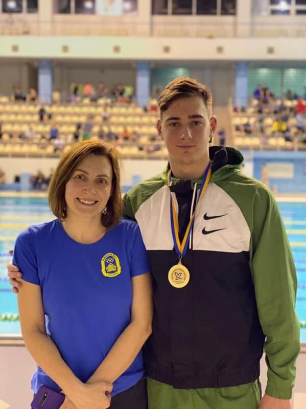 Тернополянин Сергій Лисобей — чемпіон України серед молоді у плаванні на спині