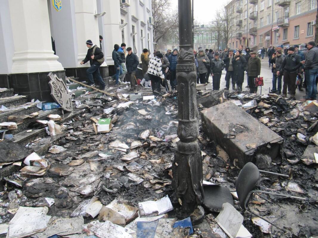 """7 років тому Тернополем прокотилася """"ніч гніву"""" (фото)"""