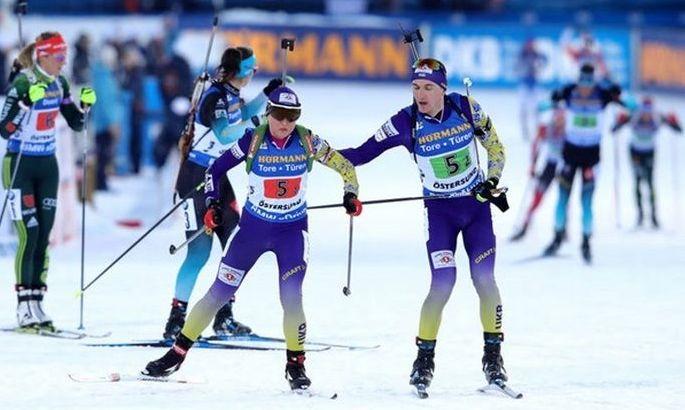 Завтра на чемпіонаті світу з біатлону дві естафети. Де виступлять тернополяни?