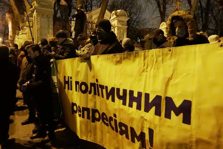В Україні протестують через ув'язнення Стерненка (ФОТО, ВІДЕО)