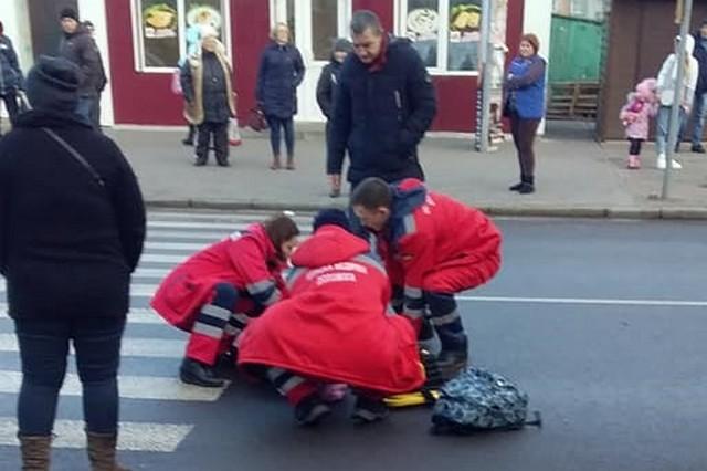 У Тернополі на переході збили дитину