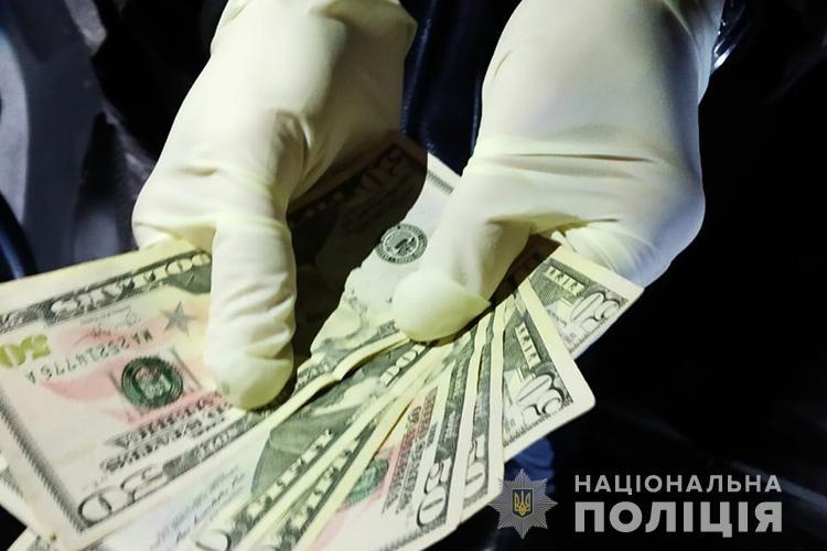 У Тернополі керівник підприємства хотів відкупитися від криміналу за 3000 доларів (ФОТО)