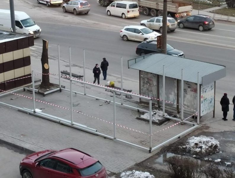 Підприємець заплатить штраф за пошкодження дерев біля Збаразького кільця (ФОТО)