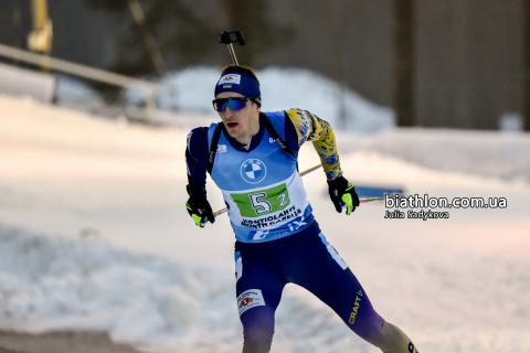 Завтра українські біатлоністи візьмуть участь у гонках переслідування