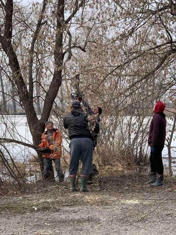 На Тернопільщині голова громади разом з мешканцями провели толоку (Фотофакт)