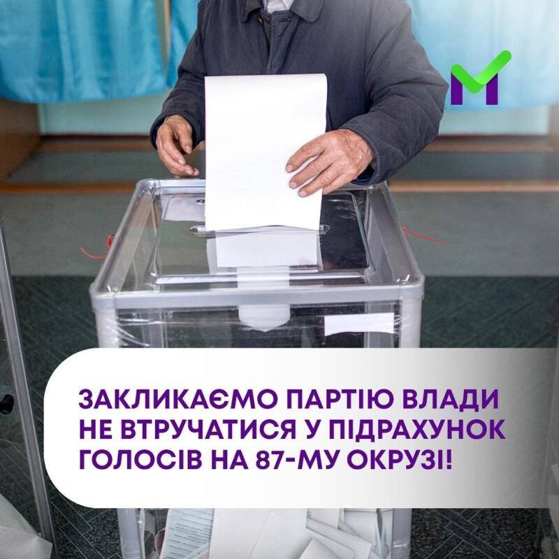 На Івано-Франківщині скандал через вибори: в кандидата Шевченка хочуть выдыбрати перемогу