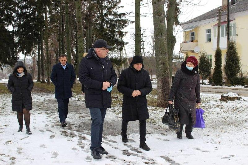 Команда Чайківського у Козові планує створити сучасний простір для відпочинку (ВІДЕО)