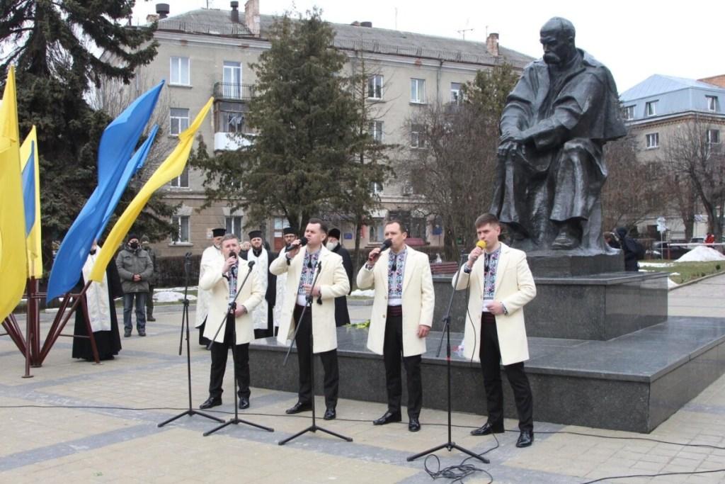 Тернополяни вшанували пам'ять Тараса Шевченка