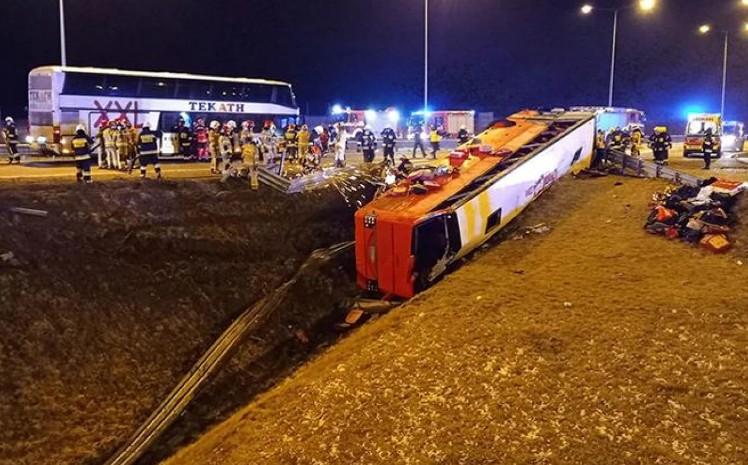 Остаточні висновки щодо аварії українського автобуса в Польщі будуть через 2-3 місяці