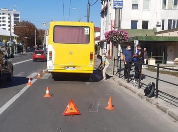 Як покарали водія маршрутки, який у Тернополі смертельно травмував чоловіка на моноколесі (ФОТО)