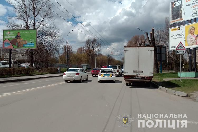 У Тернополі дитина потрапила під колеса авто (ФОТО)