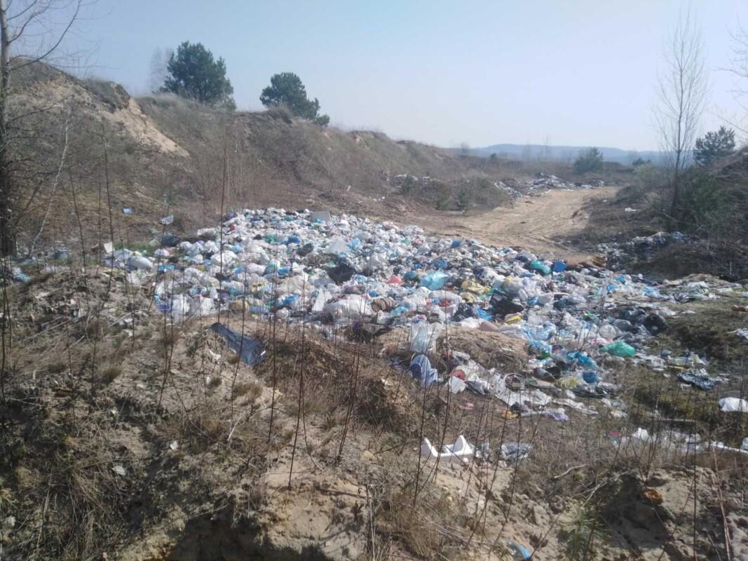 """""""Багато порушень і стихійні сміттєзвалища"""": Тернопільщина """"потопає"""" у смітті (ФОТО)"""