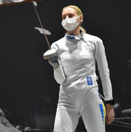 Екс-тернополянка Олена Кривицька виграла кваліфікаційний олімпійський турнір з фехтування на шпагах!