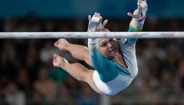 Тернопільська гімнастка Анастасія Бачинська замкнула топ-20 на чемпіонаті Європи