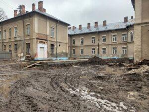 Відновлять роботи з будівництва приймально-діагностичного відділення в Бережанській лікарні