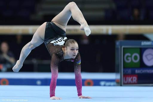 17-річна тернополянка Анастасія Бачинська виграла чемпіонат України зі спортивної гімнастики