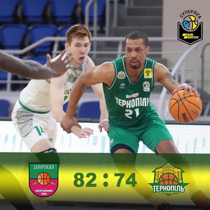 БК Тернопіль за тур до завершення регулярного чемпіонату опустився на 5 місце