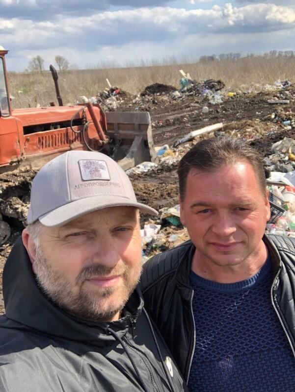 Біля Озерної впорядкували величезне стихійне сміттєзвалище