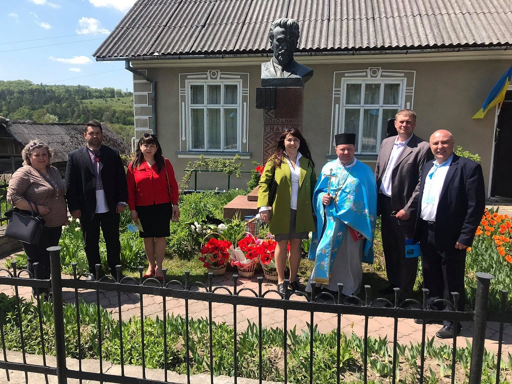 З нагоди відзначення 150-річчя від дня народження відомого земляка на Тернопільщині відбулись урочистості (фоторепортаж)
