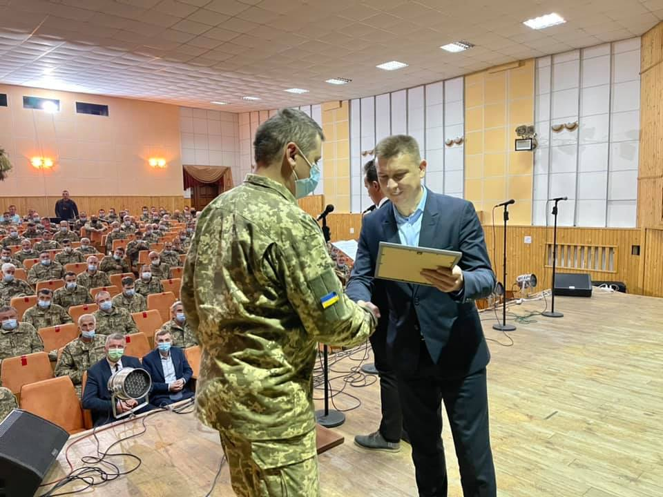 У Теребовлі завершились військові збори (фото)