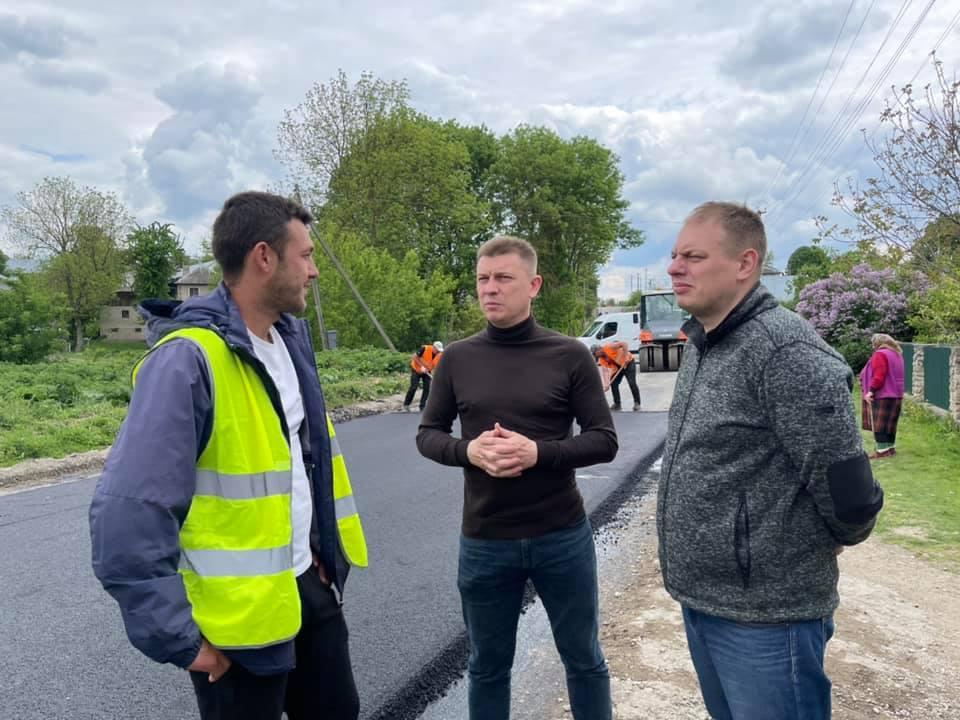 У селі Соборне, Байковецької громади почали ремонтувати дорогу (ФОТО, ВІДЕО)