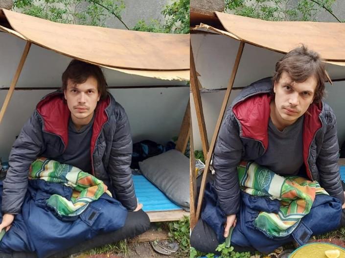 У Польщі два тижнів бомжує молодий українець: допоможіть знайти рідних, бо невідомо скільки він ще так протягне (ФОТО)