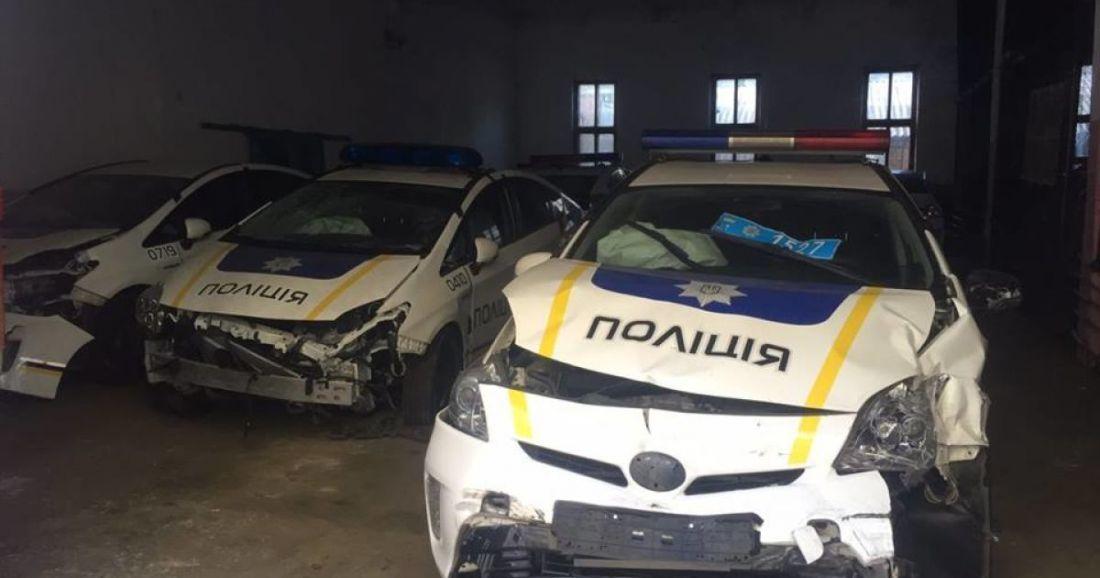 На ремонт службових авто поліція Тернопільщини передбачає витратити 450 тисяч гривень