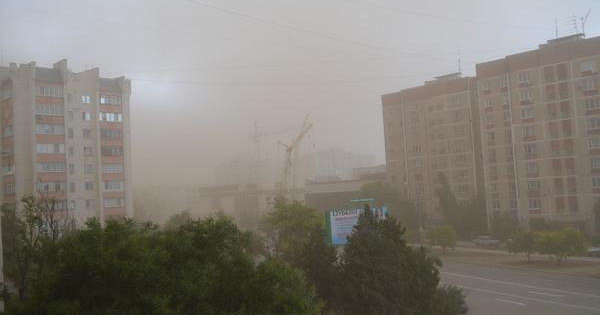 """""""Вікна краще закривати"""": піщана буря в Україні, чи дійде вона до Тернопільщини?"""