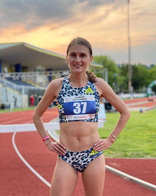 Тернопільська бігунка виграла престижні міжнародні змагання в Італії