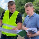 У селі Мужилів, Підгаєцької громади асфальтують дорогу (ВІДЕО)