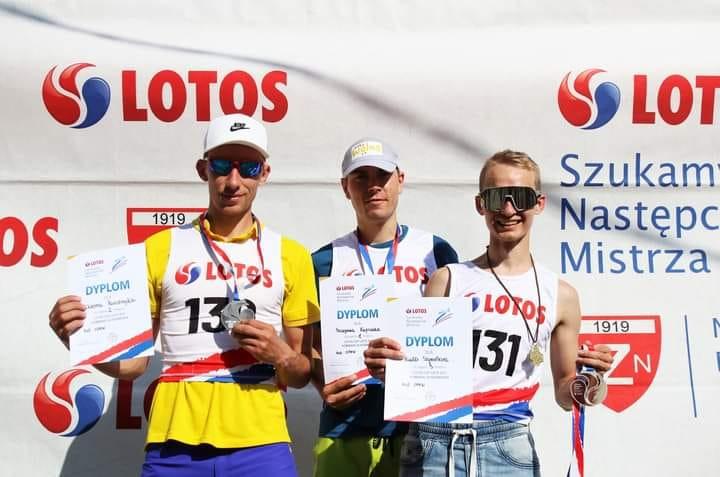 Кременчанин Віктор Пасічник — срібний призер турніру Lotos Cup з лижного двоборства