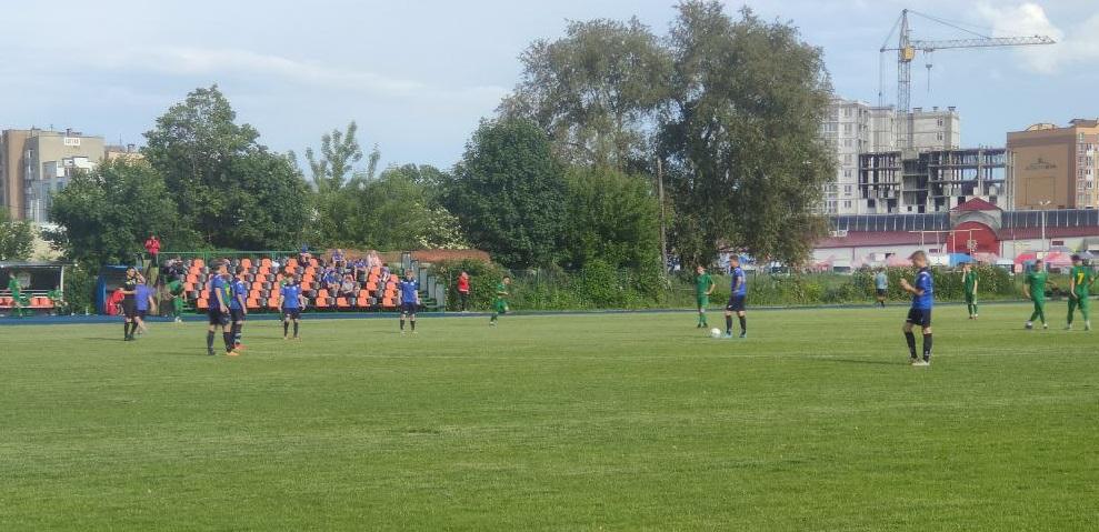 У Тернопіль приїхали скаути провідних клубів — грають найкращі молоді футболісти України