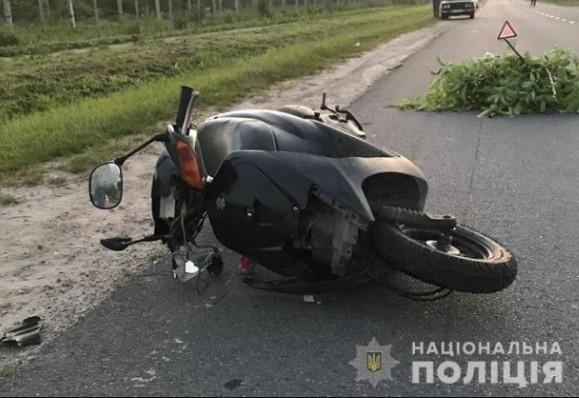 Загинув на місці: підліток з Тернополя потрапив у ДТП на Львівщині