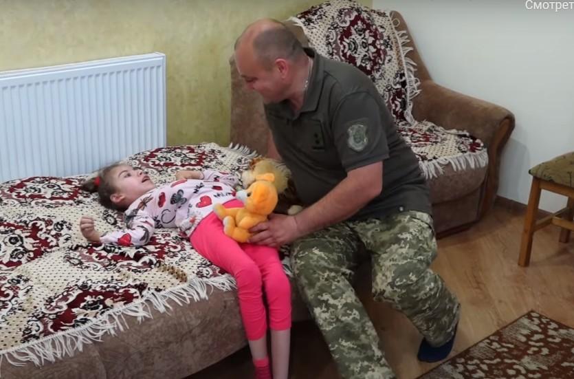 Поховав дружину, а зараз рятує доньку: необхідні кошти на лікування дитини військового з Тернопільщини (ВІДЕО)